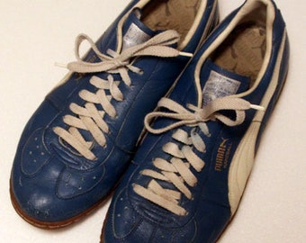 cef3f653058f 70 s vintage Puma Tempo made in west germany
