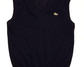 05fac149228f74 70 s vintage Lacoste vest made in France