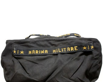 80s vintage Italy Military duffle bag made in Italy 2824fc60935ef