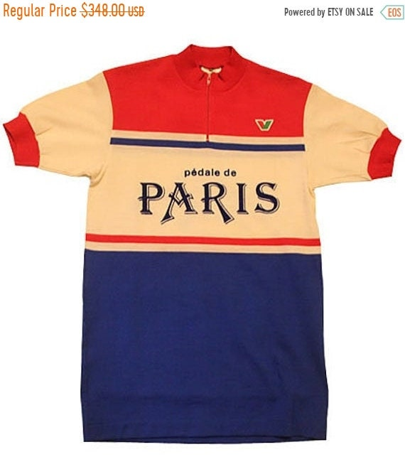 SUMMER SALE 20/08-30/08 Deadstock 70's vintage Vittore Gianni cycle jersey  made in Italy