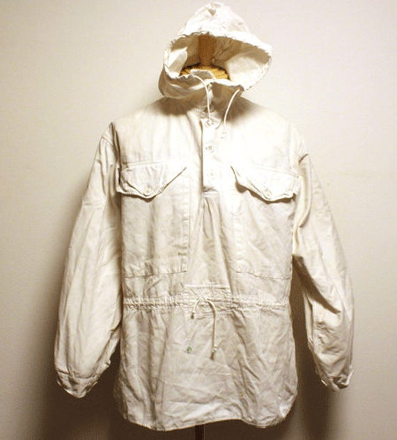 40's Swiss army snow camo smock