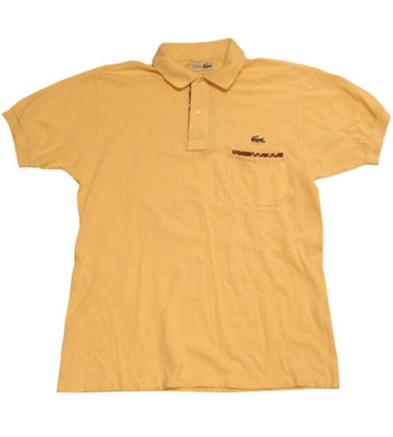lepszy niska cena Nowe Produkty 70's vintage Lacoste polo shirts made in France