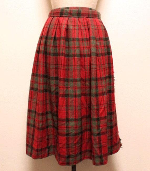 70s vintage glenscot kilt skirt made in scotland