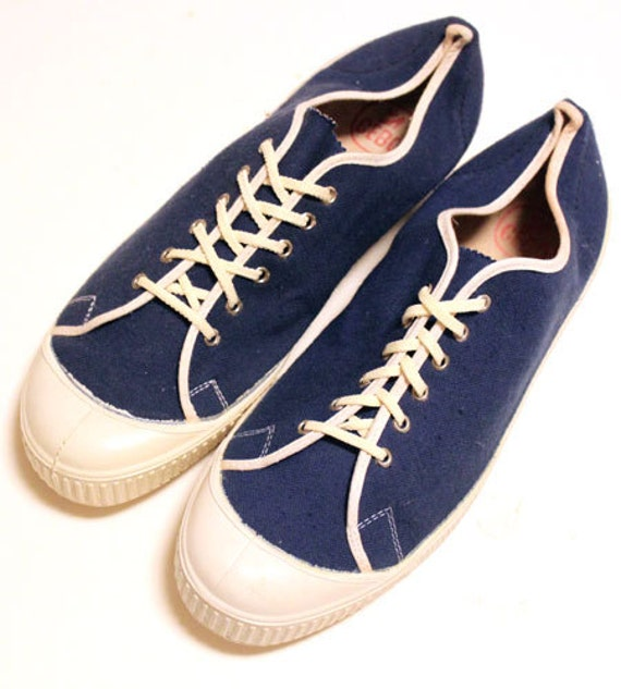 Deadstock 60's vintage CEBO canvas shoes made in C