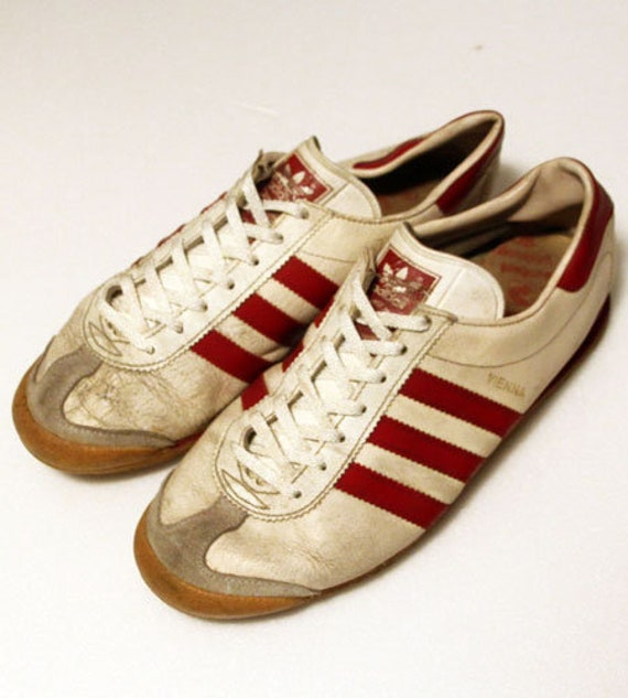 80er Vintage Adidas Sneaker Vienna in Westdeutschland gemacht