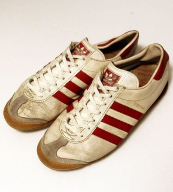 80er Jahre Vintage Adidas Sneaker Wien made in West Germany