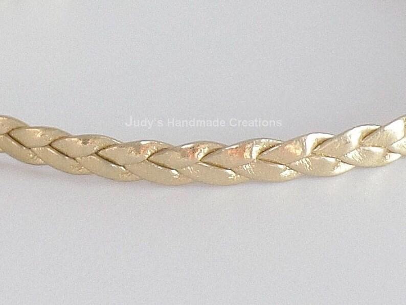 Braided Gold Choker Braided Choker Necklace,Thin Gold Choker Popular Necklace Faux  Leather Choker Gold  Choker Necklace Gold Choker