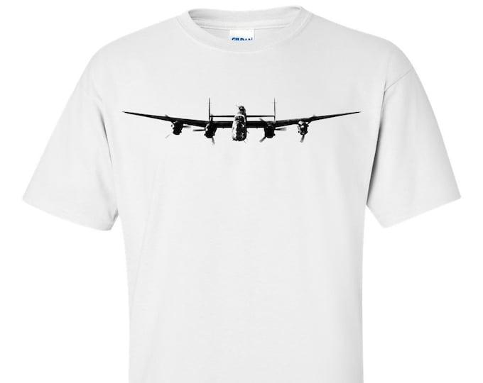 Lancaster Heavy Bomber Aircraft RAF WW2 T-Shirt