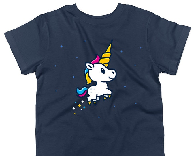 Not Just Nerds Unicorn Foal Kids T-Shirt