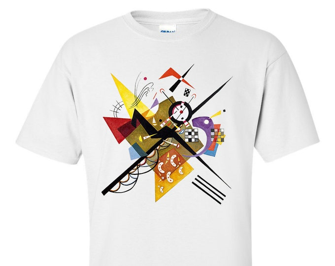 On White II By Wassily Kandinsky Fine Art T-Shirt