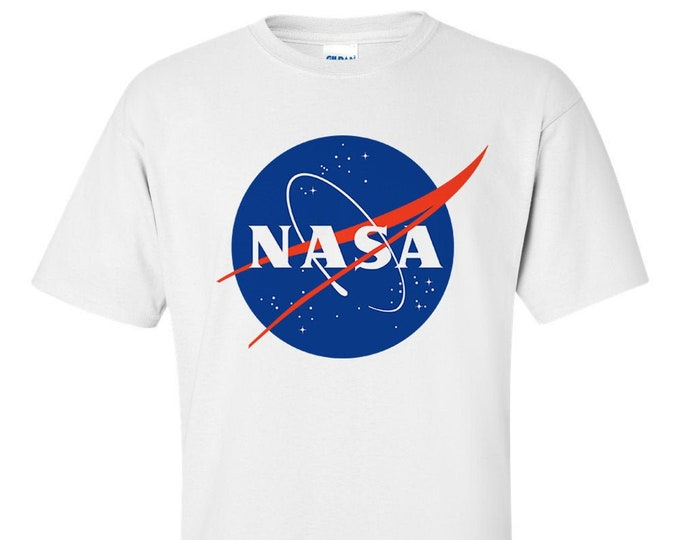 NASA Meatball Insignia Logo Men T-Shirt
