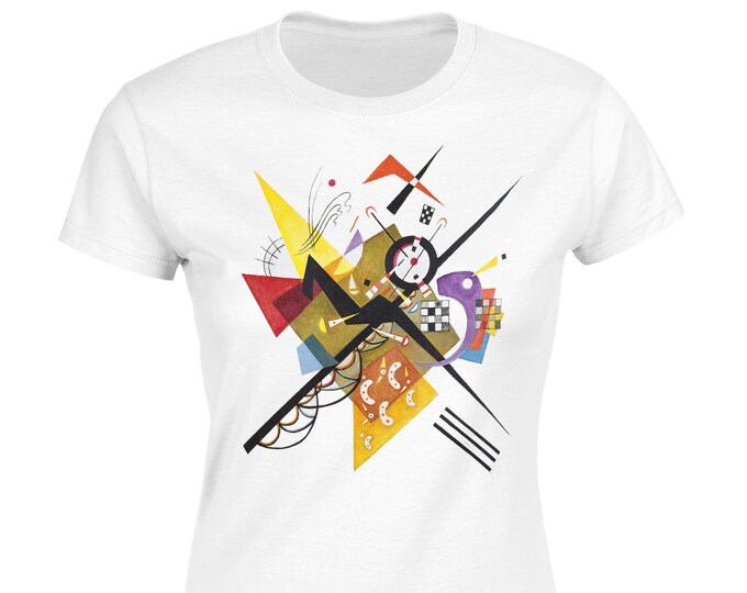 On White II By Wassily Kandinsky Fine Art Womans T-Shirt