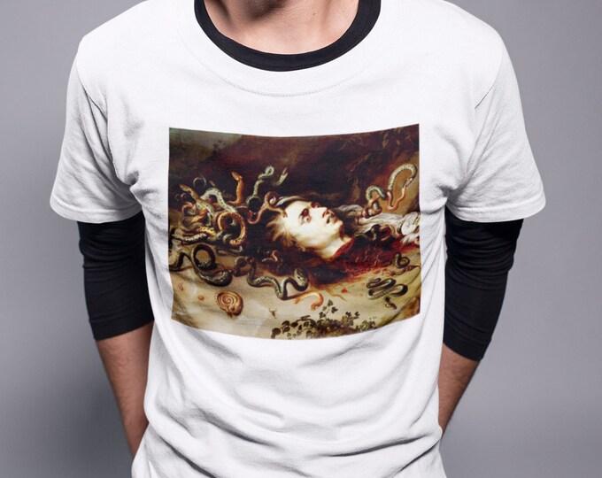 Rubens Medusa Fine Art T-Shirt