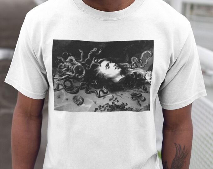 Rubens Medusa Mono Print Fine Art T-Shirt