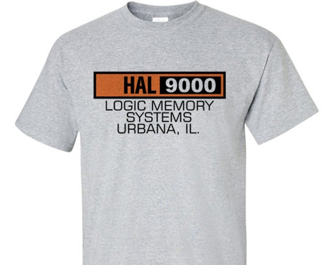 HAL 9000 Space Odyssey Inspired T-Shirt