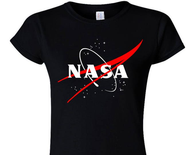 Not Just Nerds NASA Logo Womans T-Shirt