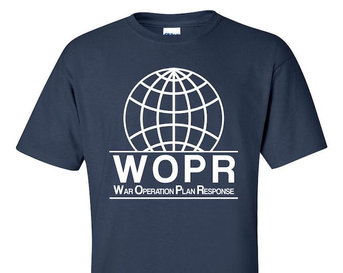 WOPR Wargames Computer T-Shirt