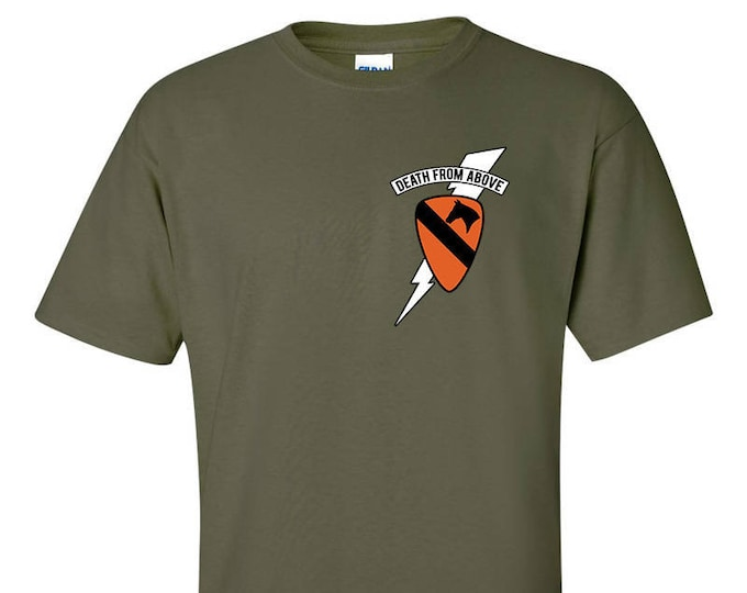 1st Air Cavalry Death From Above Card Kilgore T-Shirt