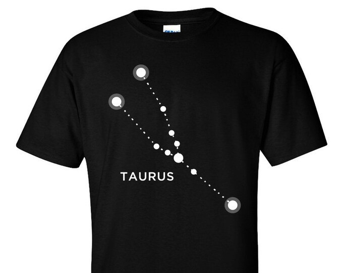 Taurus Zodiac Sign Star Constellation Astrology T-Shirt