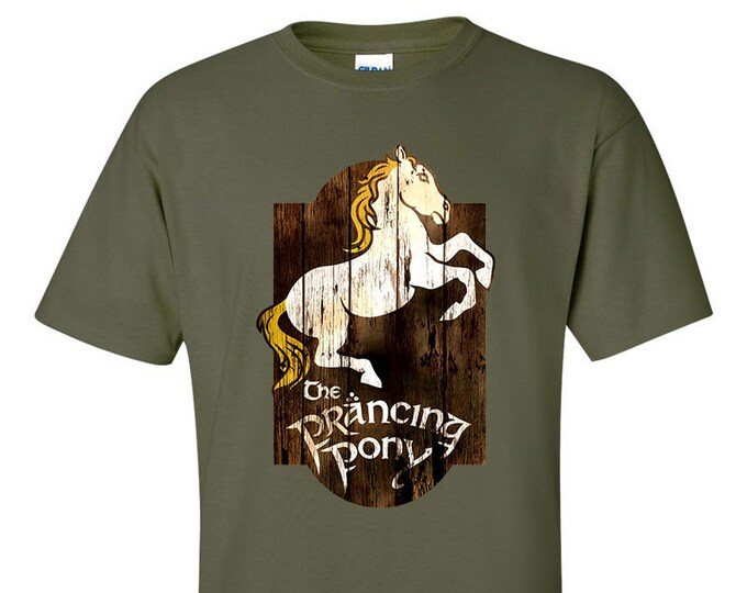 The Prancing Pony Inn Lord of the Rings T-Shirt