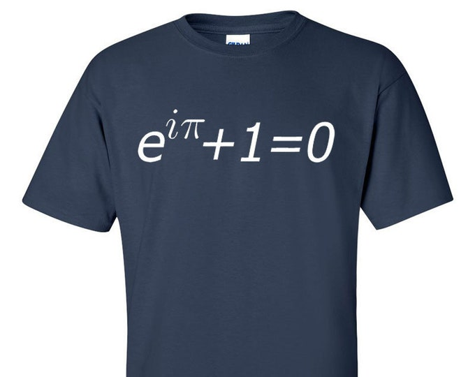 Euler's Identity Equation Men Math T-Shirt