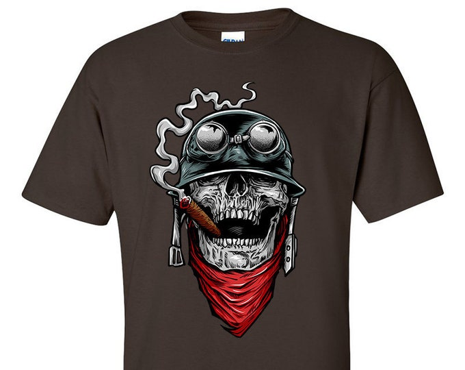 Not Just Nerds Biker Skull of Duty T-Shirt