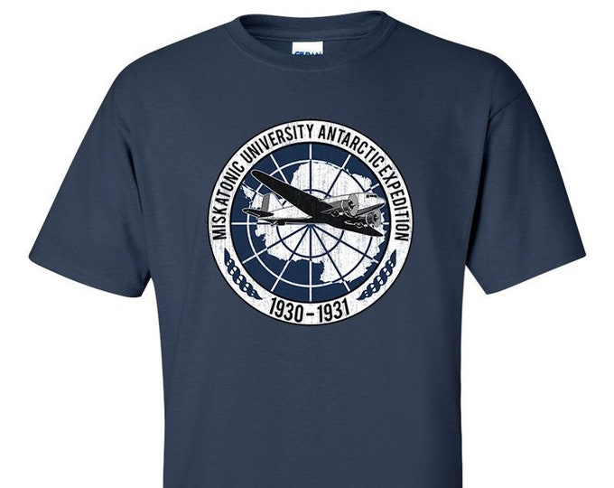 Miskatonic University Antarctic Expedition Lovecraft Inspired T-Shirt