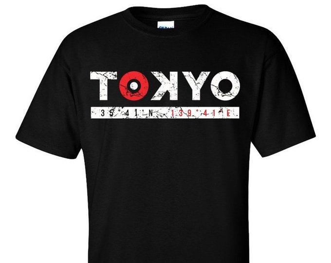 Not Just Nerds Tokyo Coordinates Logo T-Shirt