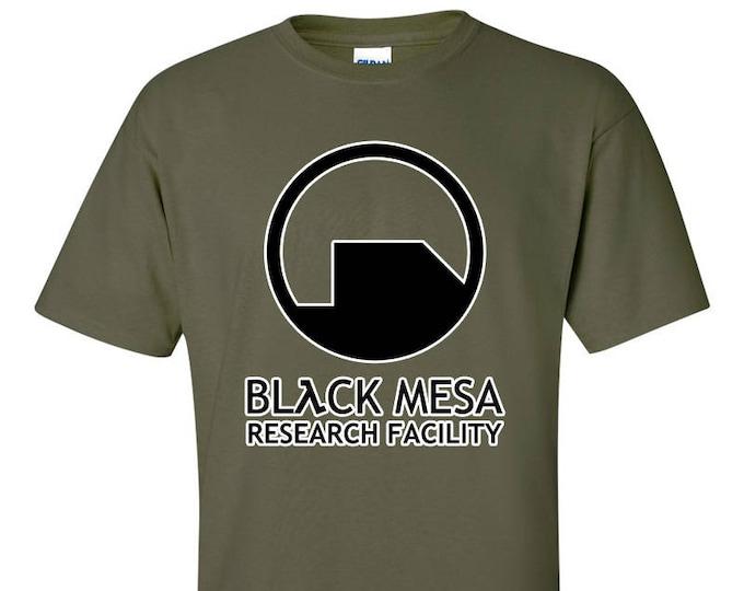 Black Mesa Research Facility T Shirt