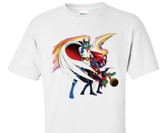 Battle Of The Planets G-Force Cartoon 80's retro Anime T-Shirt
