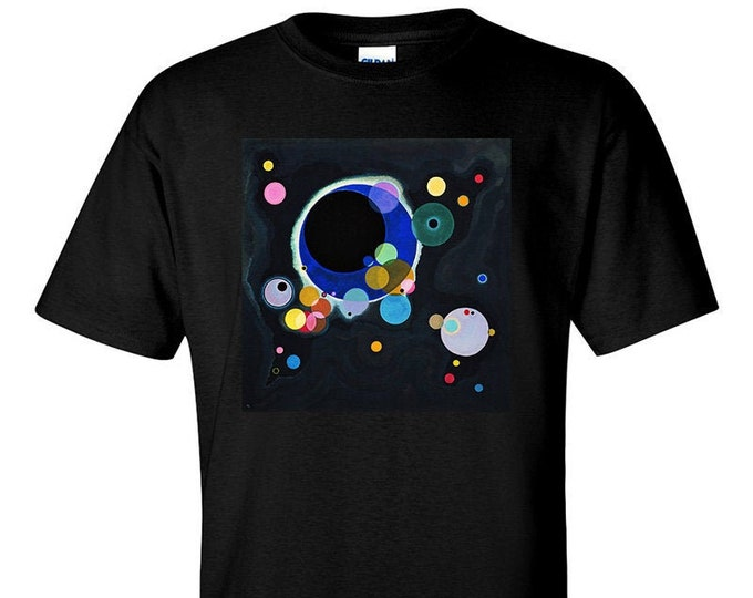 Several Circles By Wassily Kandinsky Fine Art T-Shirt