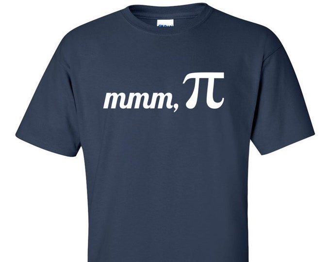 Not Just Nerds mmm Pi Mens T-Shirt