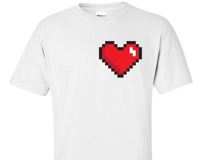 Not Just Nerds 8-bit Heart T-Shirt