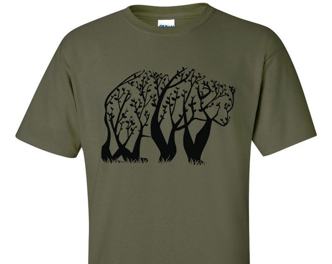 Not Just Nerds Tree Bear T-Shirt
