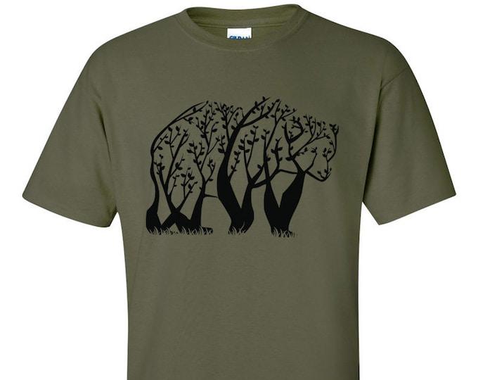 Not Just Nerds Tree Bear T-Shirt