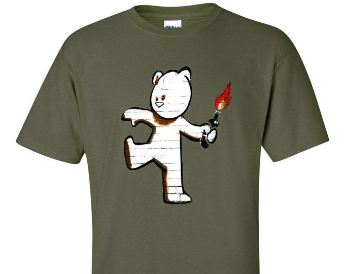 Banksy Mild Mild West Bear T-Shirt