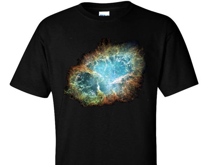 Crab Nebula Hubble Space Telescope T-Shirt