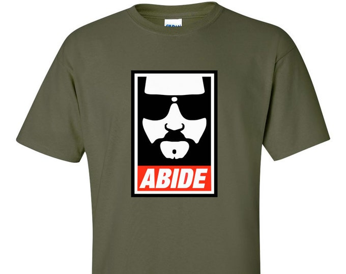 Abide Obey Style - The Big Lebowski - T Shirt
