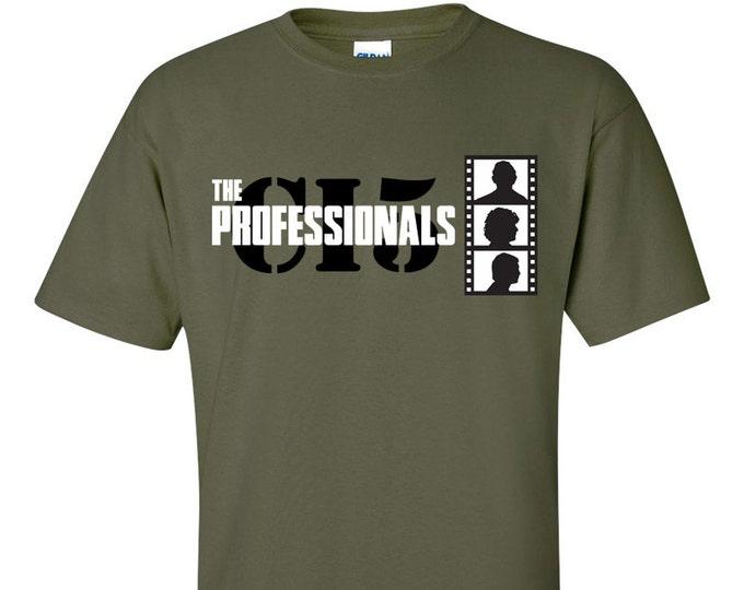 CI5 The Professionals Retro TV T-Shirt