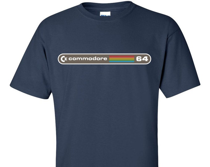 Commodore 64 C64 T-Shirt Retro Computer T-Shirt