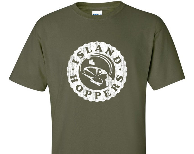 TC's Island Hoppers Magnum PI Inspired  T-Shirt