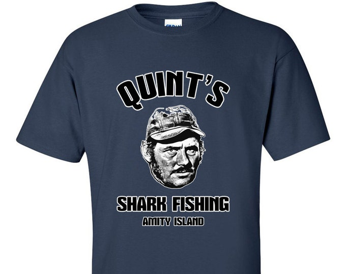 Not Just Nerds Quints Shark Fishing T-Shirt