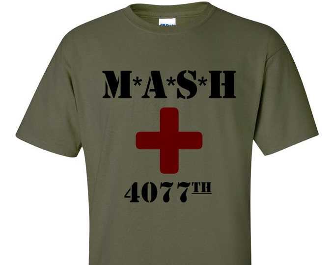 M*A*S*H 4077th MASH Army T-Shirt