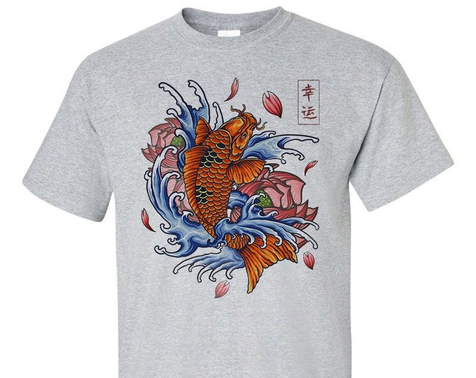 Not Just Nerds Japanese Koi Carp Tattoo T-Shirt