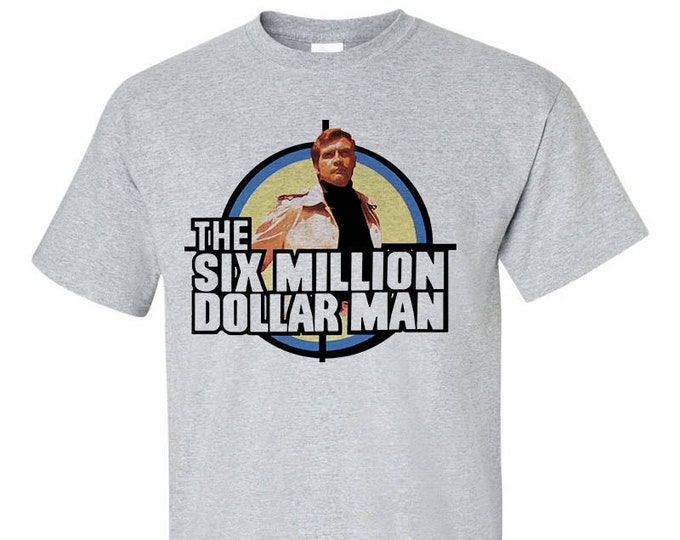 The Six Million Dollar Man Retro Cult TV T-Shirt