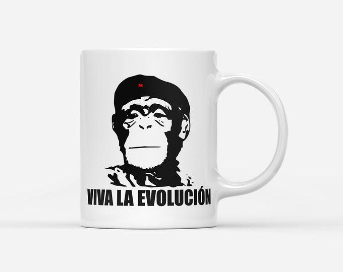 Viva La Evolucion Evolution Revolution Gift Mug