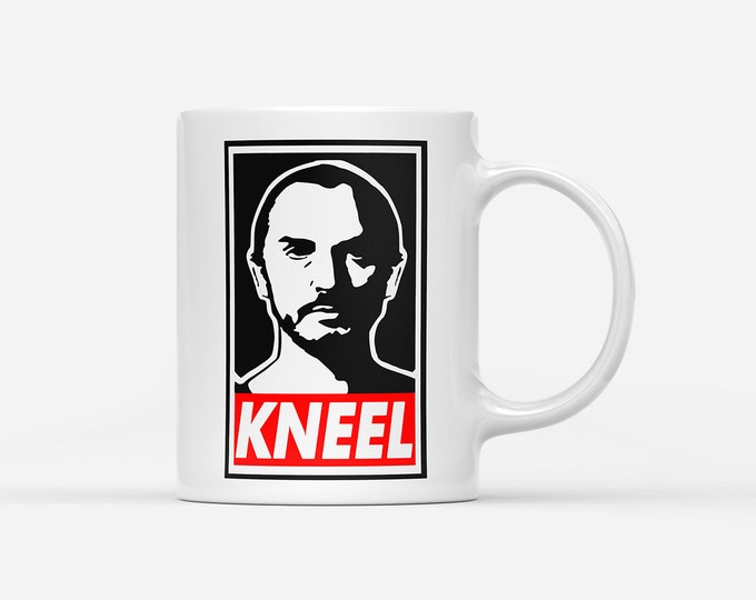 General Zod KNEEL Obey Style Mug