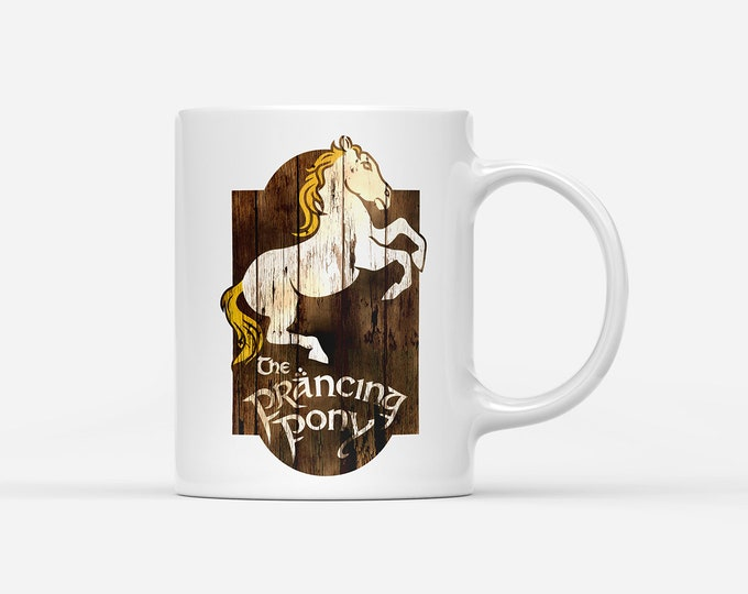 The Prancing Pony Inn Lord of the Rings Mug