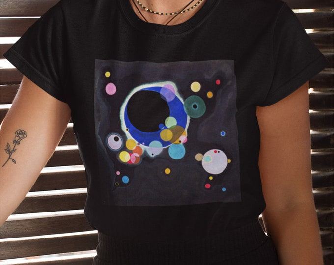 Several Circles By Wassily Kandinsky Fine Art Womans T-Shirt