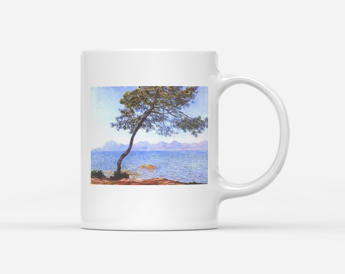Claude Monet Cap de Antibes Fine Art Mug